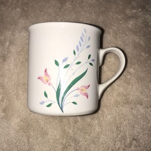 "Summer garden by excel mug 3.5"" tall floral print"